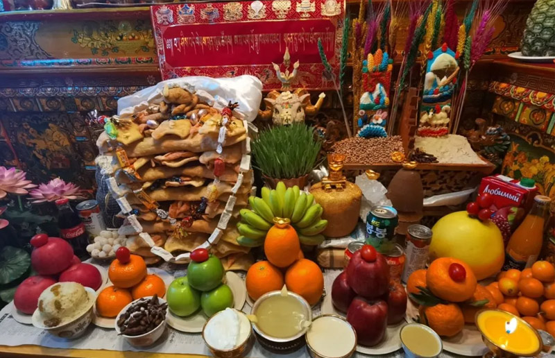 Tibetan New Year Blessing